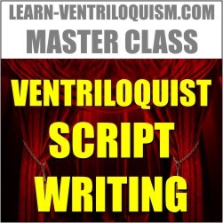 ventriloquism script writing