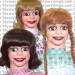 female ventriloquist dummies