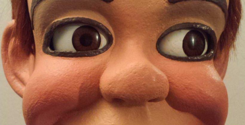 jerry mahoney ventriloquist dummy doll