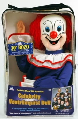 bozo the clown ventriloquist dummy