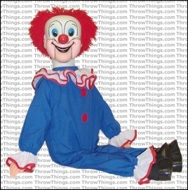 bozo the clown dummy