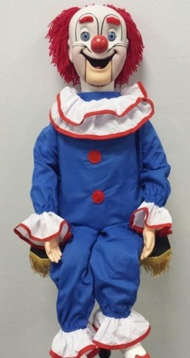 bozo clown puppet