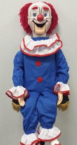 bozo clown puppet