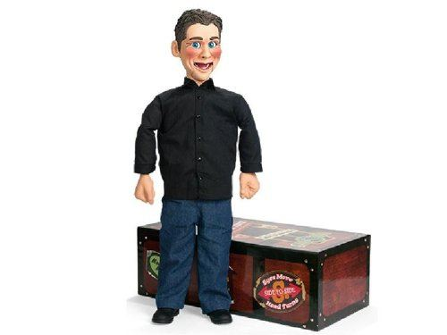 little jeff ventriloquist dummy - doll