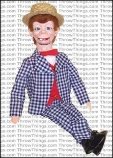 mortimer snerd ventriloquist dummy