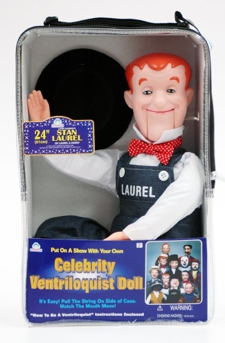 stan laurel ventriloquist dummy review