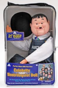 oliver hardy ventriloquist dummy basic
