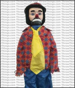 ... Image 3 : Emmett Kelly ''Willie the Clown'' Doll ...