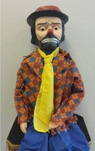 Emmett Kelly Jr ventriloquist doll