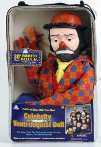 Emmett Kelly Jr ventriloquist dummy
