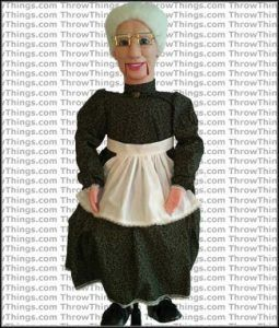 old lady doll