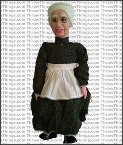 old lady dummy