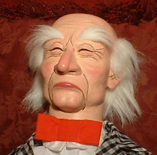 old man ventriloquist doll