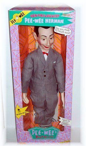 pee wee herman ventriloquist dummy
