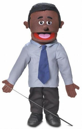 calvin puppet black