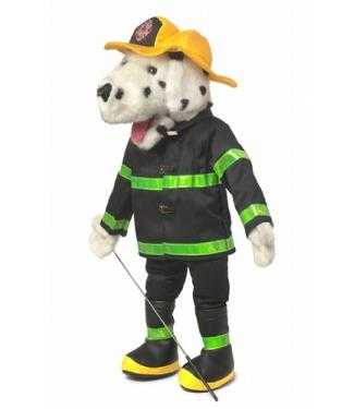 firefighter dog puppet