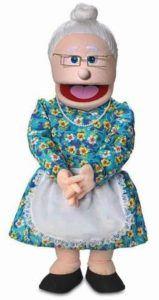 size 30 granny puppet
