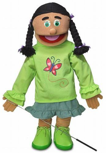 jasmine brown girl puppet