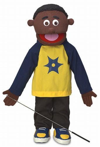 jordan puppet black