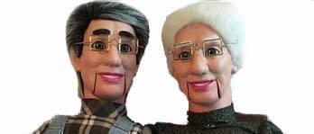 old man grampa granny ventriloquist dummy