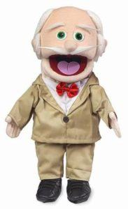 small grampa puppet
