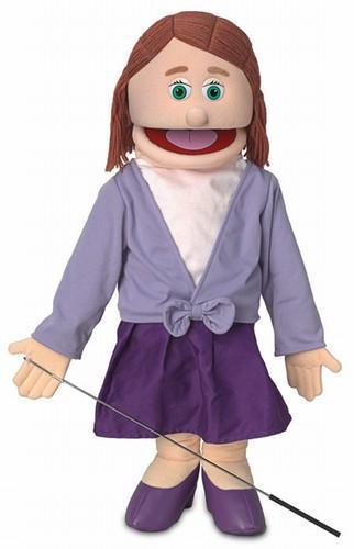 sarah girl puppet