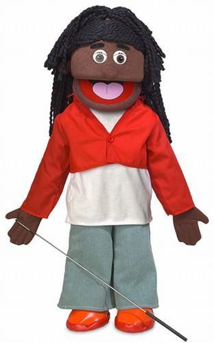 sierra black girl puppet