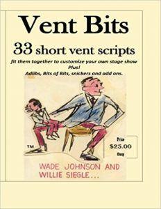ventriloquist material book
